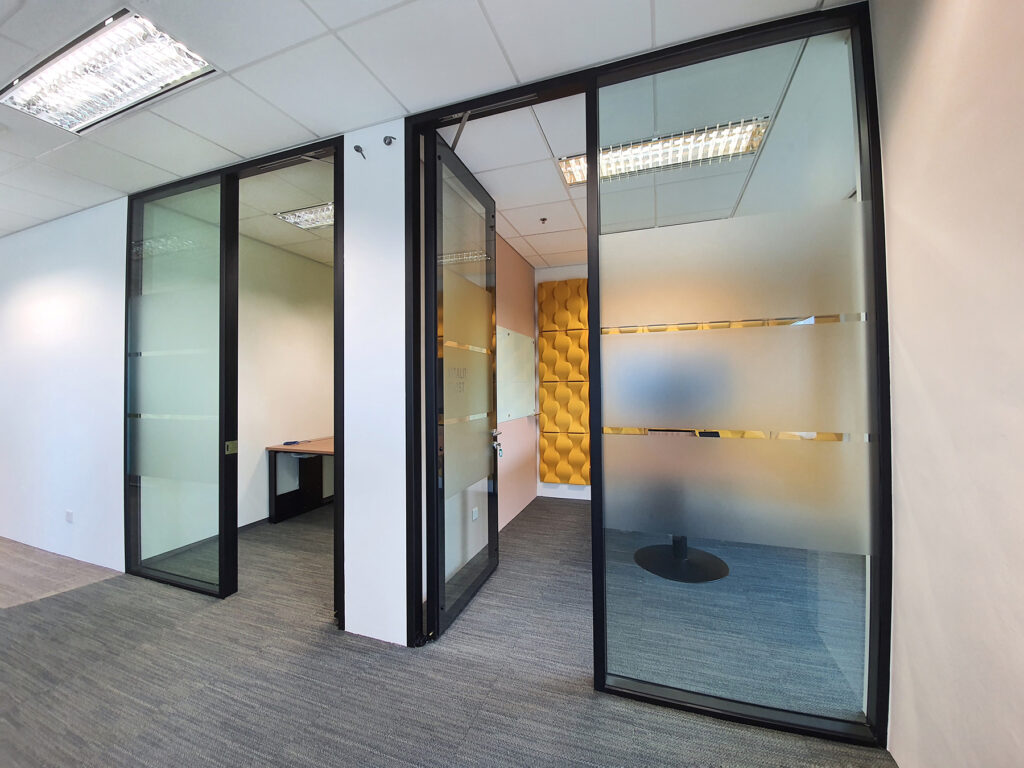 Glass doors and Partitions Flexibility for Various Needs
